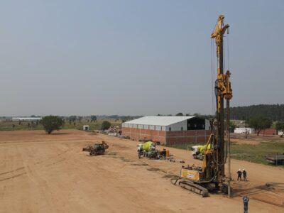 Proyecto de obras civiles Planta SIKA
